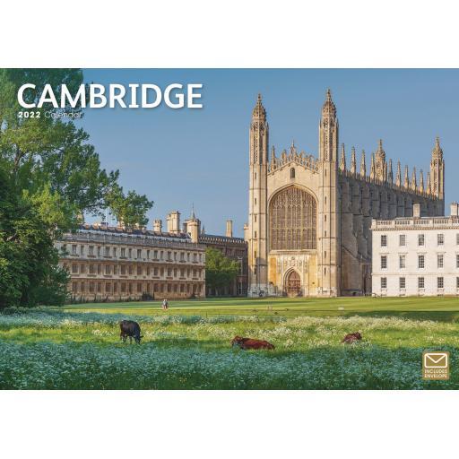 Cambridge A4 Calendar 2022