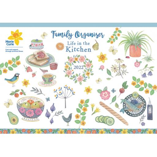 Life in The Kitchen MTV A4 Planner 2022
