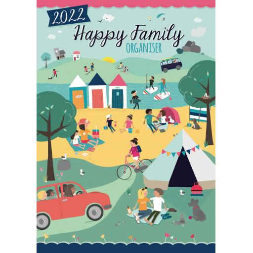 Happy Family A3 Planner 2022