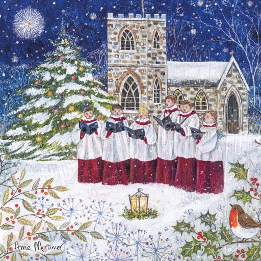Charity Christmas Card Pack - Carol Singing