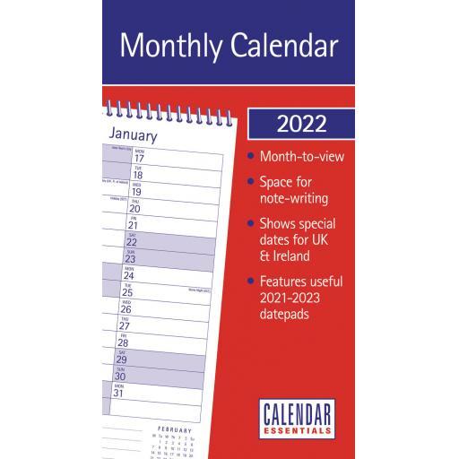 Essential MTV Stubby Slim Calendar 2022