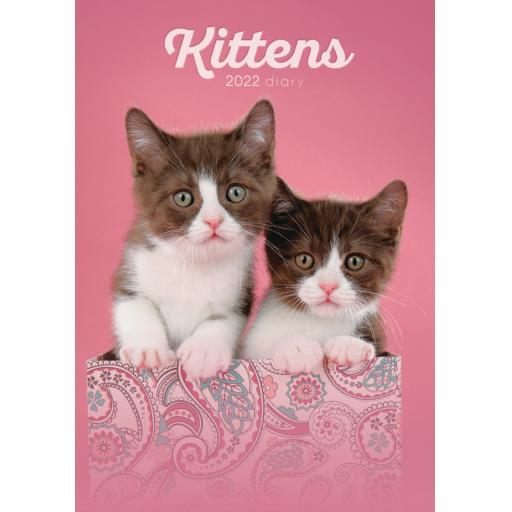 Kittens A5 Diary 2022