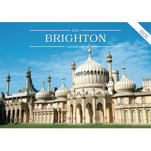 Brighton A5 Calendar 2022
