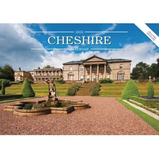 Cheshire A5 Calendar 2022
