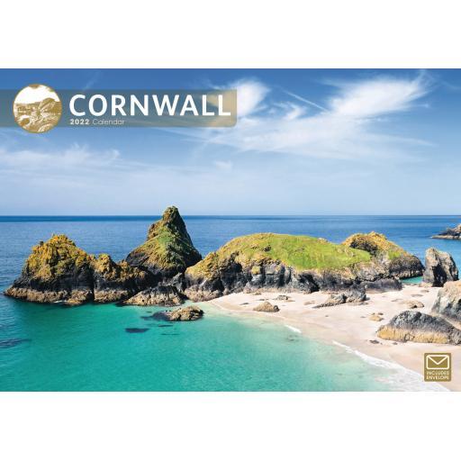 Cornwall A4 Calendar 2022