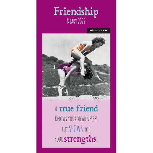 Milk Friendship Slim Diary 2022