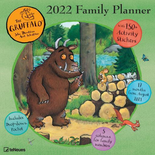 Gruffalo Wall Planner 2022