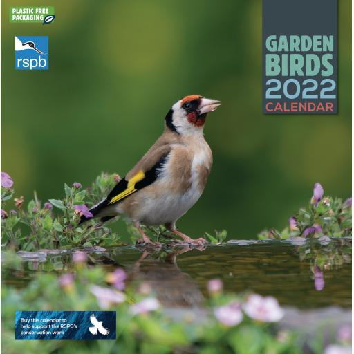 RSPB Garden Birds Wall Calendar 2022 (PFP)