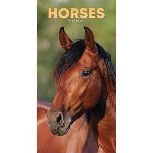 Horses Slim Diary 2022