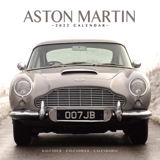 Aston Martin Wall Calendar 2022