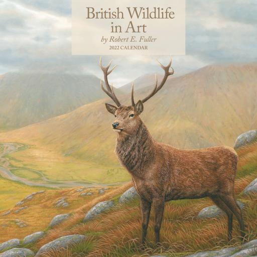 British Wildlife in Art By Robert Fuller Wall Calendar 2022