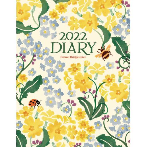 Emma Bridgewater Primrose & Forget Me Not Dlx Diary 2022