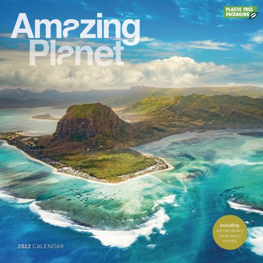 Amazing Planet Wall Calendar 2022 (PFP)