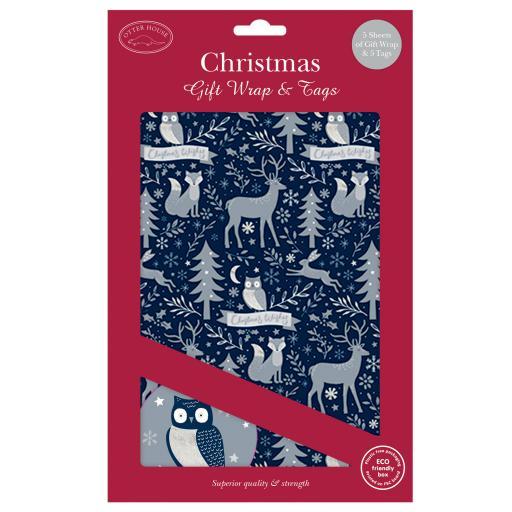Christmas Wrap & Tags - Winter Wonderland