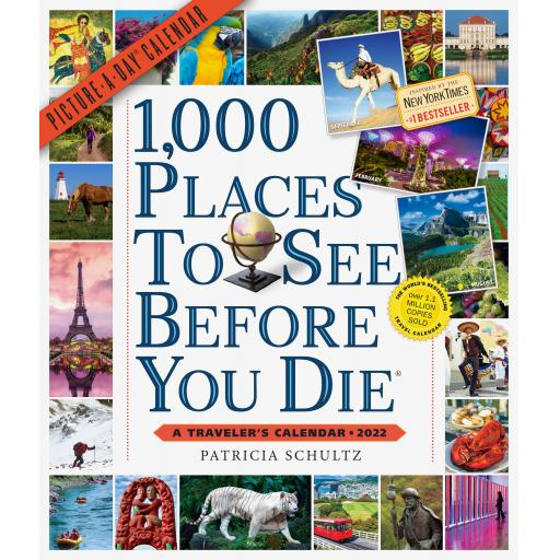 1000 Places To See Before You Die Dlx Calendar 2022