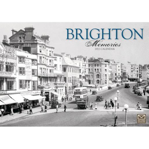 Brighton Memories A4 Calendar 2022