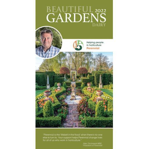 Alan Titchmarsh Beautiful Gardens Slim Diary 2022