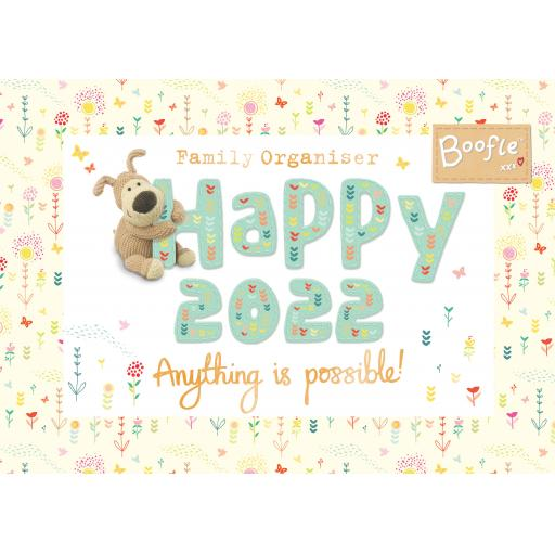 Boofle WTV A4 Planner 2022