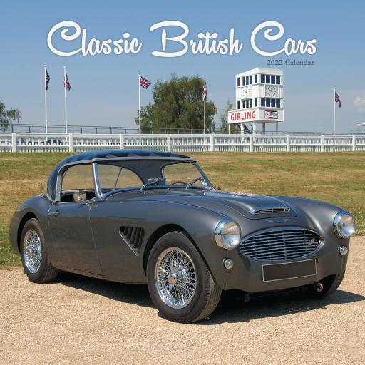 Classic British Cars Wall Calendar 2022