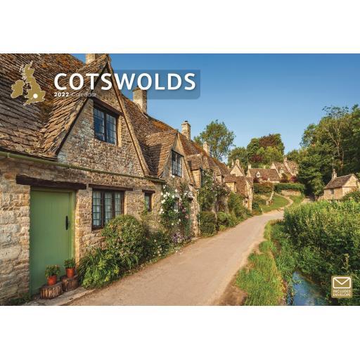 Cotswolds A4 Calendar 2022