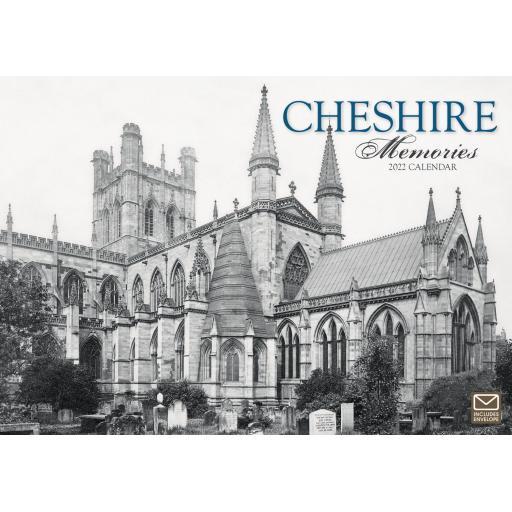 Cheshire Memories A4 Calendar 2022