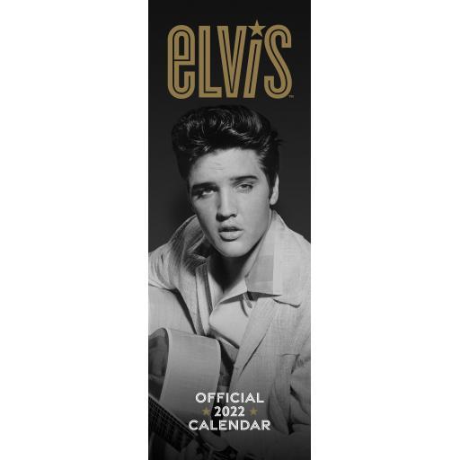 Elvis Presley Slim Calendar 2022
