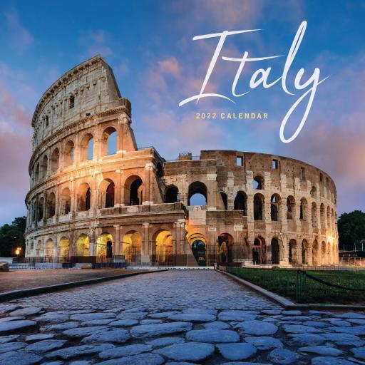 Italy Mini Wall Calendar 2022