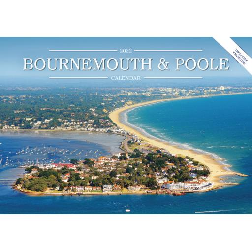 Bournemouth & Poole A5 Calendar 2022
