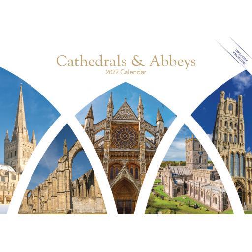 Cathedrals & Abbeys A5 Calendar 2022