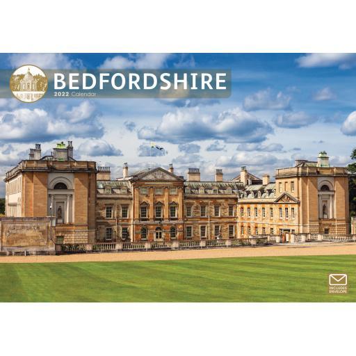 Bedfordshire A4 Calendar 2022