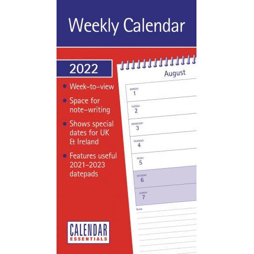 Essential WTV Stubby Slim Calendar 2022