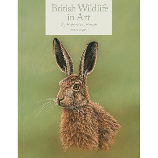 British Wildlife in Art By Robert Fuller Dlx Diary 2022