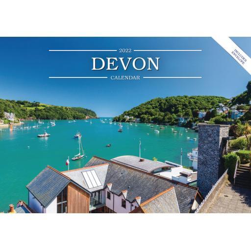 Devon A5 Calendar 2022