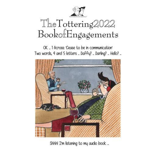 Tottering By Gently Book of Engagements Egmt Diary 2022