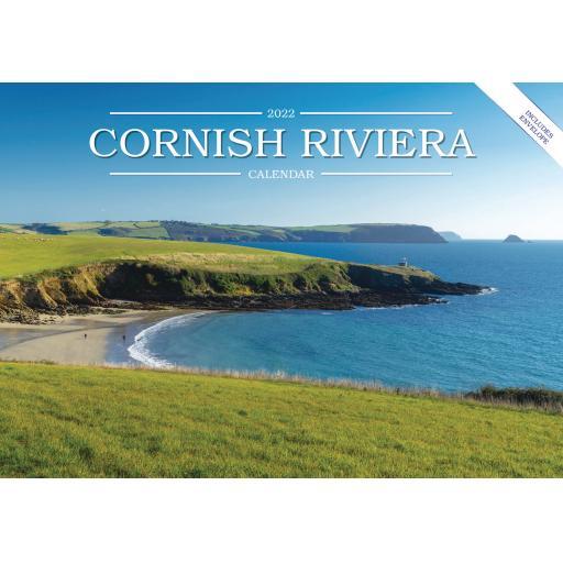 Cornish Riviera A5 Calendar 2022