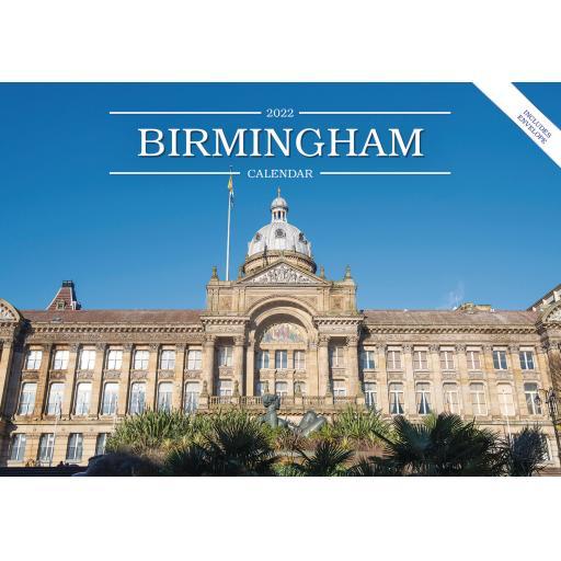 Birmingham A5 Calendar 2022