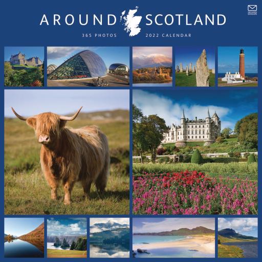 Around Scotland Wall Calendar 2022