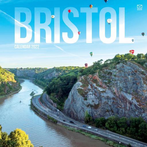 Bristol Wall Calendar 2022