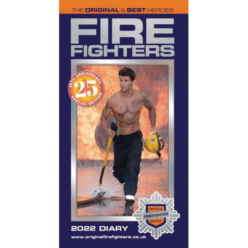 Firefighters Slim Diary 2022