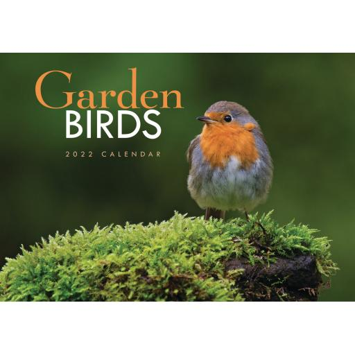 Garden Birds A4 Calendar 2022