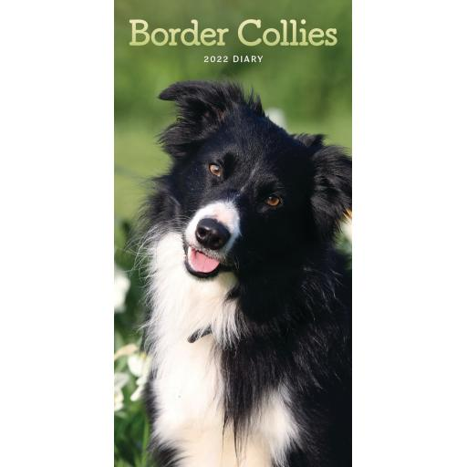 Border Collie Slim Diary 2022