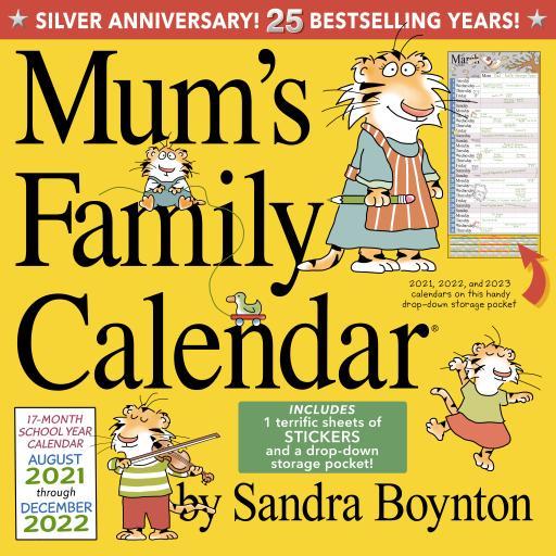 Mums Family Calendar Wall Planner 2022