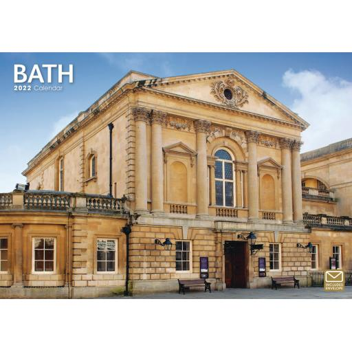 Bath A4 Calendar 2022