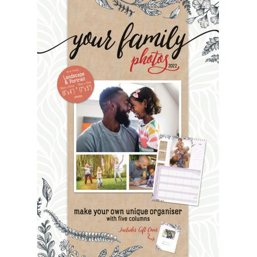 Your Family Photos A3 Planner 2022