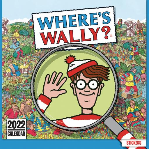 Wheres Wally Household Wall Planner 2022