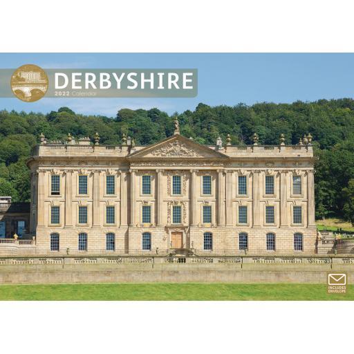 Derbyshire A4 Calendar 2022