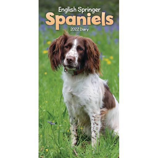 English Springer Spaniel Slim Diary 2022