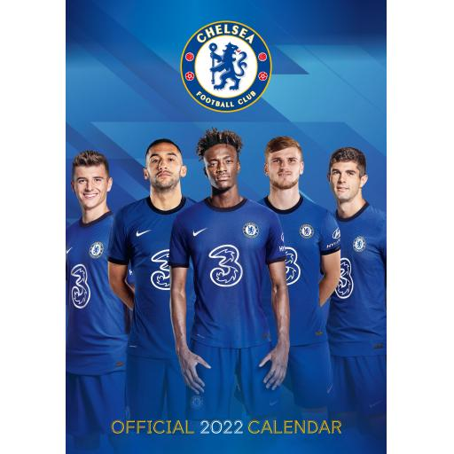 Chelsea A3 Calendar 2022