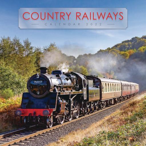 Country Railways Wiro Wall Calendar 2022