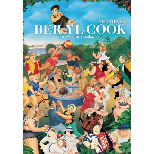 Beryl Cook A5 Diary 2022
